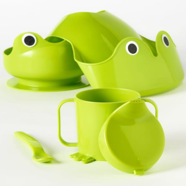 MATA Ätaset, 4 delar, grön