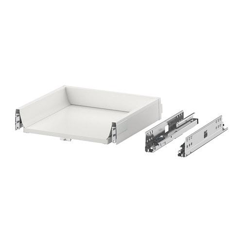 Ikea Faktum Lådor Montering ~ MAXIMERA Låda, låg IKEA Du kan se och nå innehållet, eftersom