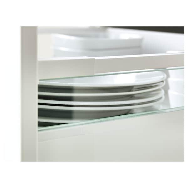 MAXIMERA Påbyggnadssida för låda, medel, glas, 37 cm
