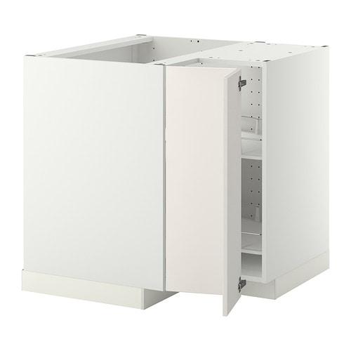 METOD Bu00e4nkhu00f6rnsku00e5p med karusell IKEA Hyllplanen gu00e5r att flytta pu00e5 ...
