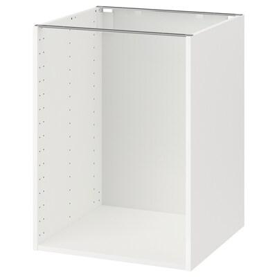 METOD bänkskåpsstomme vit 59.0 cm 60.0 cm 60.0 cm 60.0 cm 80.0 cm