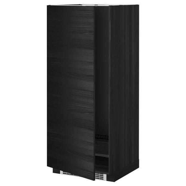 METOD högskåp för kyl/frys svart/Tingsryd svart 60.0 cm 61.6 cm 148.0 cm 60.0 cm 140.0 cm