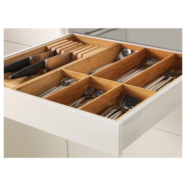 METOD / MAXIMERA Bänksk 2 frnt/2 låg/1 md/1 hög låda, vit/Veddinge grå, 60x60 cm