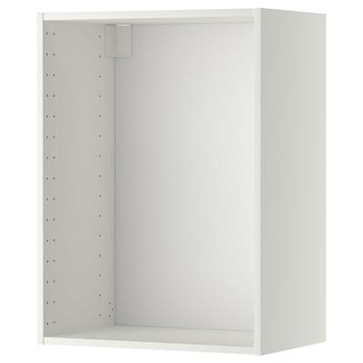 METOD Väggskåpsstomme, vit, 60x37x80 cm