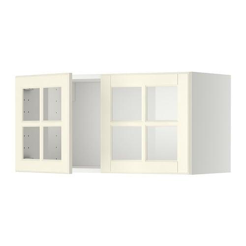 Bodbyn Kok Ikea : bodbyn kok bilder  METOD Voggskop med 2 vitrindorrar IKEA