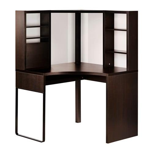micke h rnarbetsplats svartbrun 100x141 cm ikea. Black Bedroom Furniture Sets. Home Design Ideas