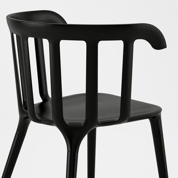 MÖCKELBYIKEA PS 2012 Bord och 6 stolar, ek, svart IKEA
