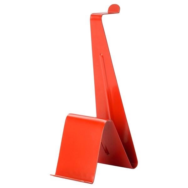 MÖJLIGHET Ställ för hörlurar/surfplatta, röd