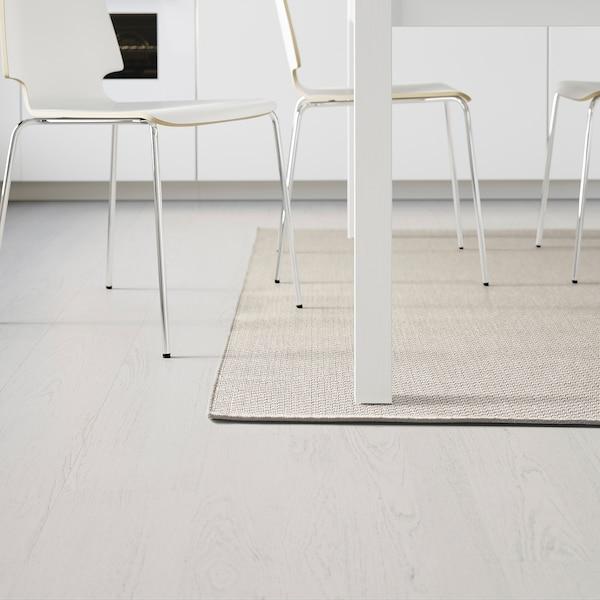 MORUM Matta slätvävd, inom-/utomhus, beige, 200x300 cm