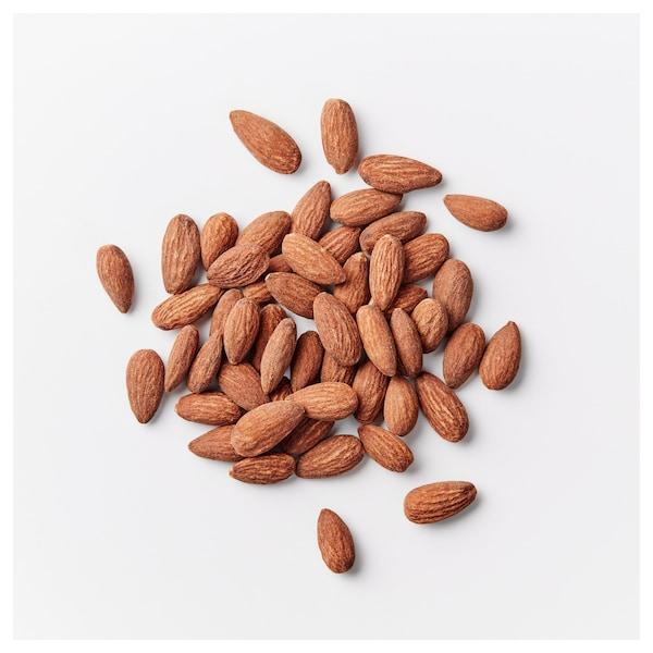 MUNSBIT Rostade mandlar, lättsaltade, 60 g