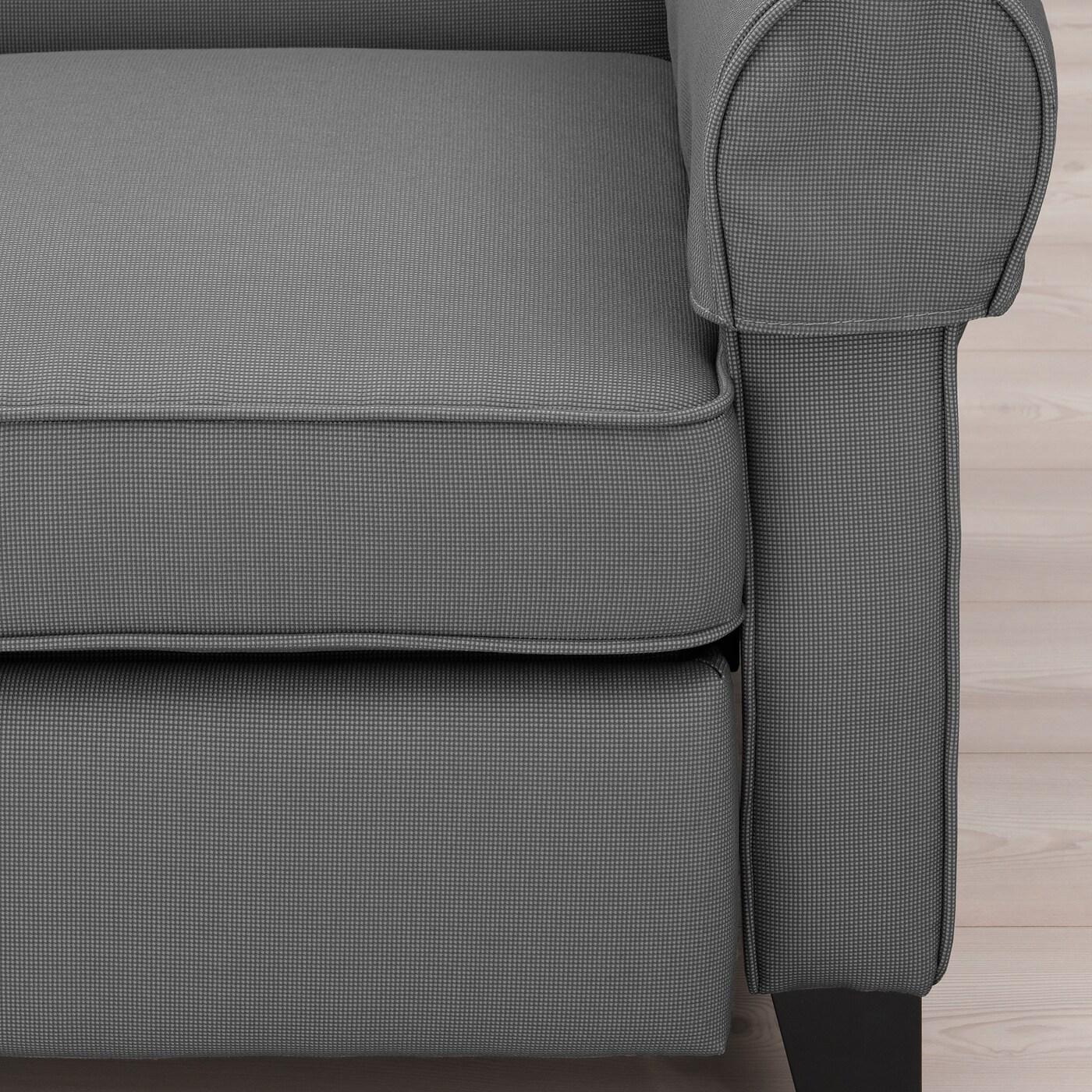 MUREN Vilfåtölj Remmarn ljusgrå IKEA