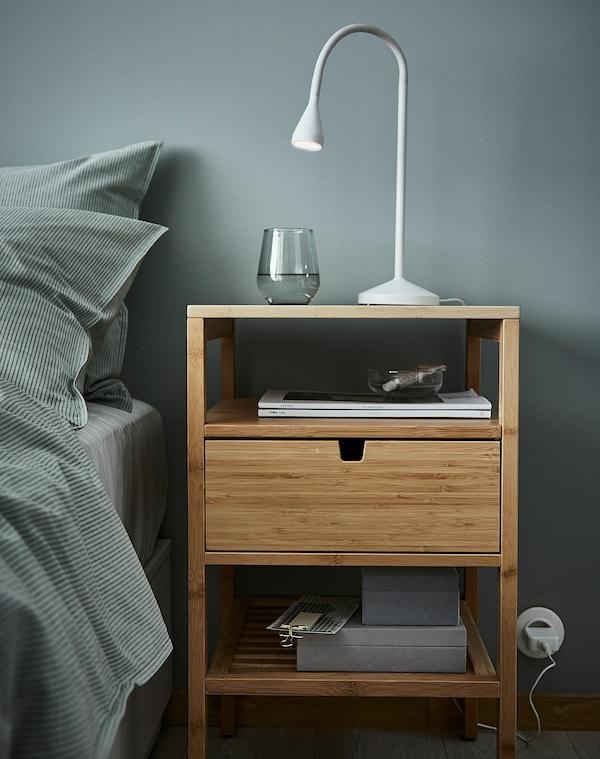 NÄVLINGE LED arbetslampa, vit