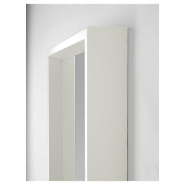NISSEDAL Spegelkombination, vit, 130x150 cm