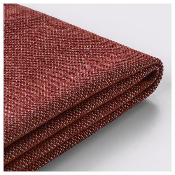 NOCKEBY klädsel 3-sits soffa Tallmyra rostbrun
