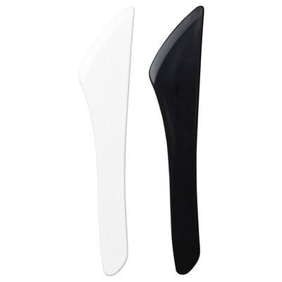 NORDBY Smörkniv, vit/svart
