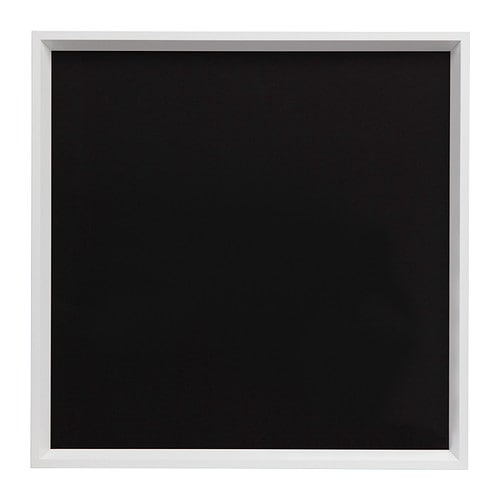 NORRLIDA Ram , vit Stomme, höjd: 52 cm Bildbredd: 50 cm / 50 cm Bildhöjd: 50 cm
