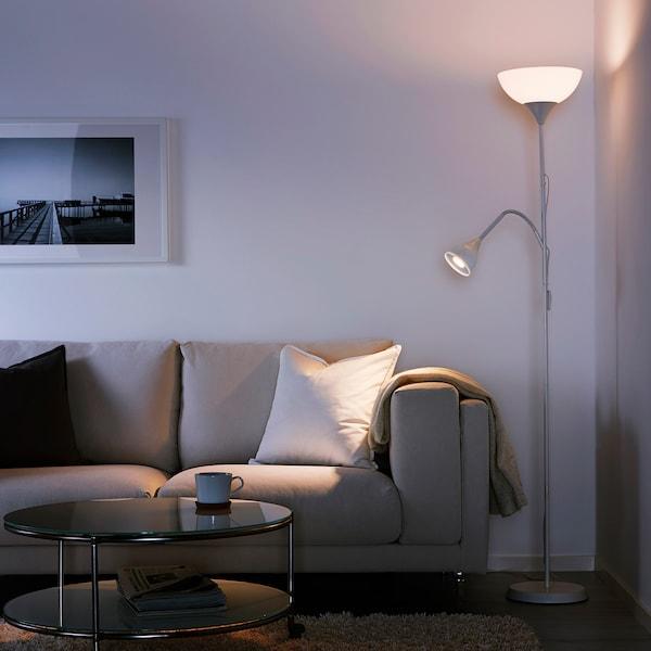 NOT Golvlampa uppläslampa, vit IKEA
