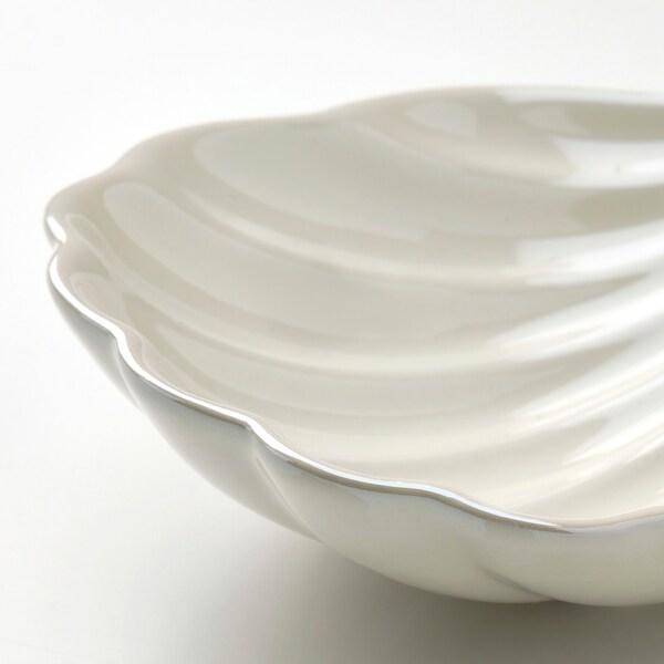 NYFÅNGAD Dekoration, set om 2, snäcka vit