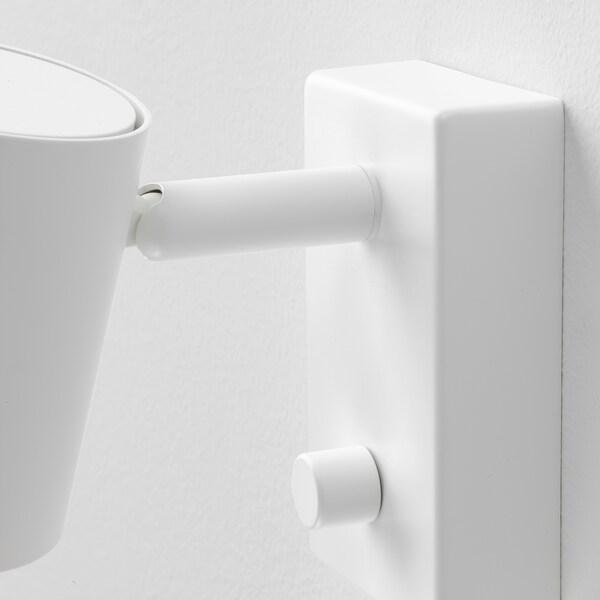 NYMÅNE Vägg läslampa, vit IKEA