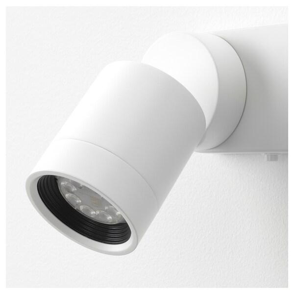 NYMÅNE Vägglampa dubbel, vit IKEA