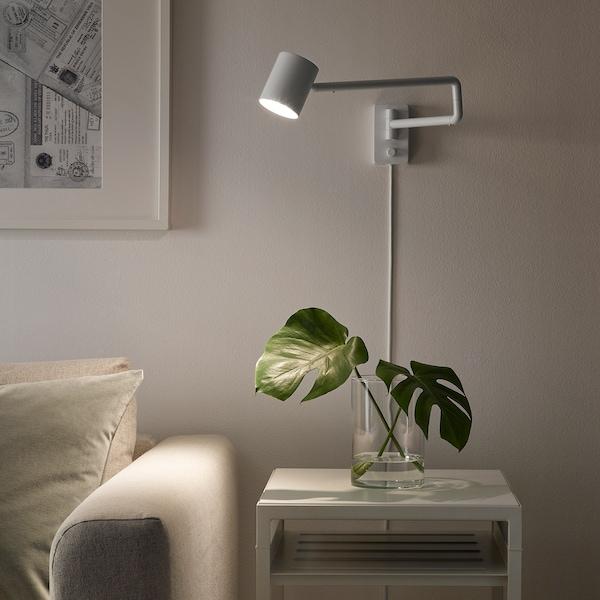 IKEA NYMÅNE Vägglampa med svängbar arm