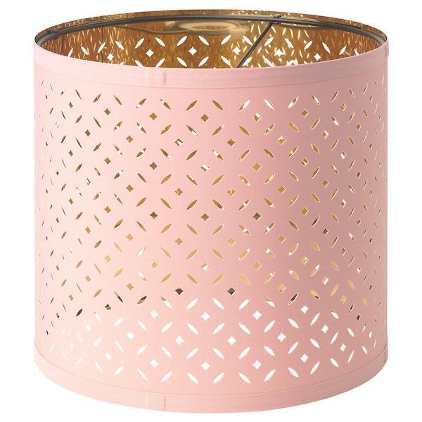 NYMÖ Lampskärm rosamässingsfärgad 24 cm