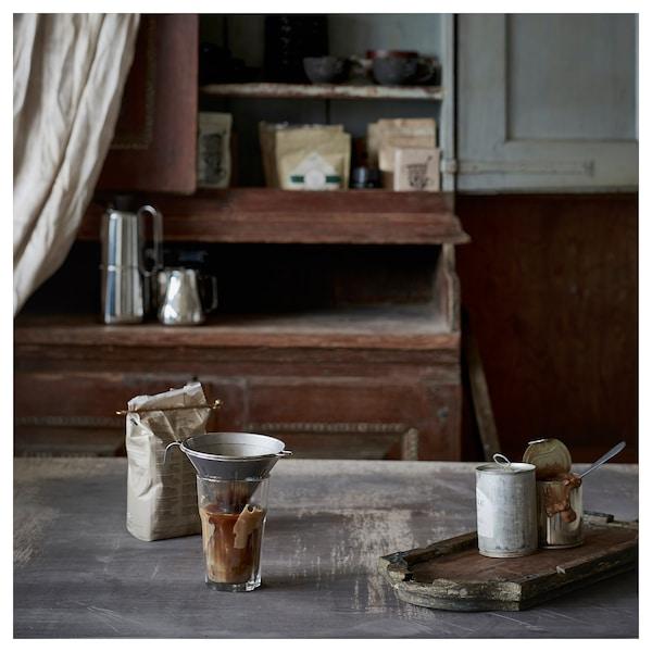 ÖVERST Metallfilter för kaffe, 3 delar, rostfritt stål