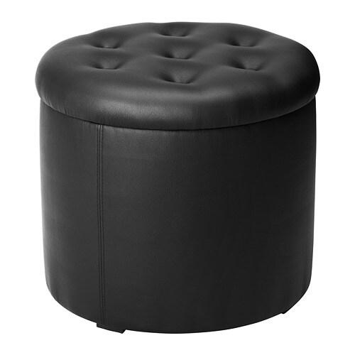 OMEDELBAR Sittpuff med förvaring IKEA