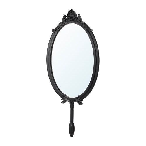 OMEDELBAR Spegel IKEA Försedd med säkerhetsfilm - minskar risken för skador om glaset splittras.