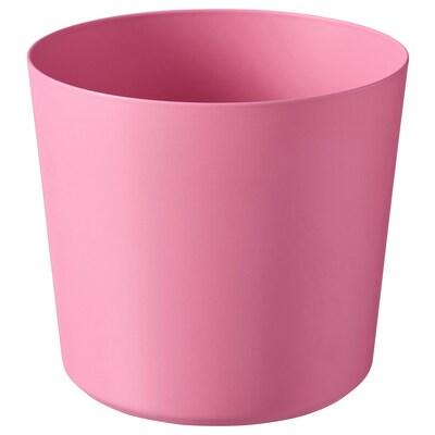 OMFÅNG kruka inom-/utomhus/rosa 9 cm 10 cm 9 cm 9 cm