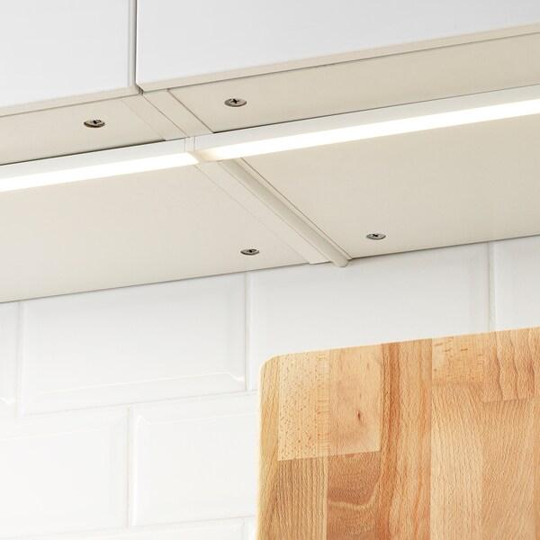 OMLOPP LED bänkbelysning, vit, 60 cm
