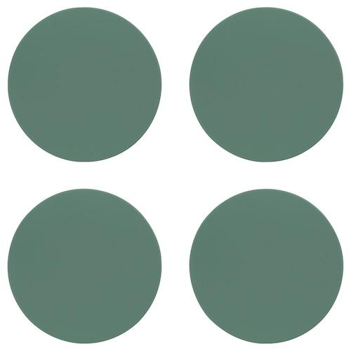 IKEA OMTÄNKSAM Glasunderlägg med antiglid