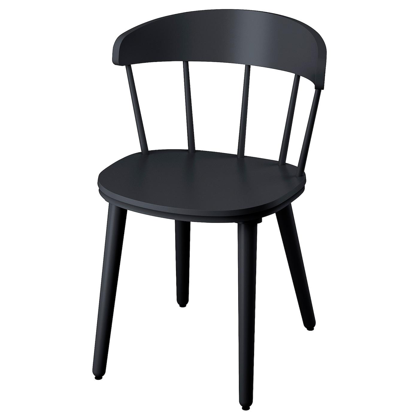 OMTÄNKSAM Stol antracit IKEA