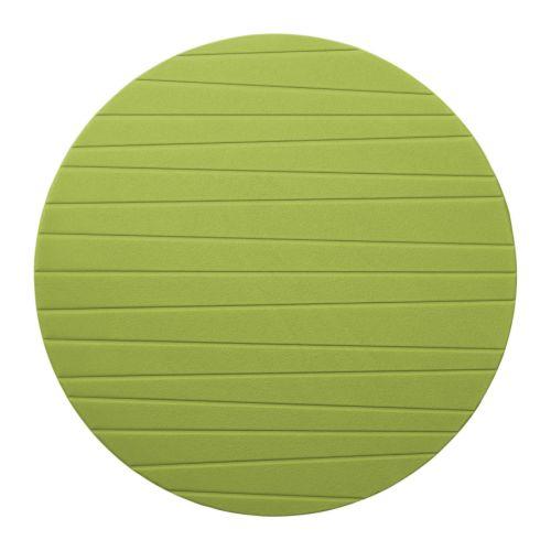 PANNÅ Tablett mellangrön Diameter: 37 cm
