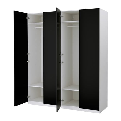 pax garderob 200x60x236 cm mjukst ngande g ngj rn ikea. Black Bedroom Furniture Sets. Home Design Ideas