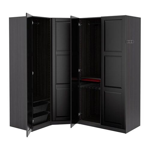 Hem / Sovrum / Garderober / PAX system Kombinationer med dörr