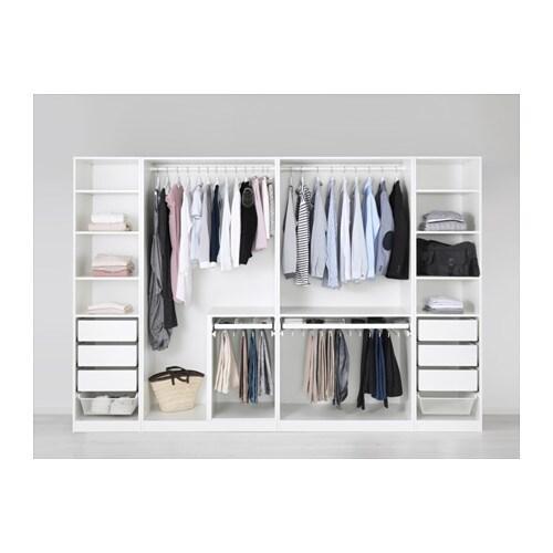 pax garderob 300x58x201 cm ikea. Black Bedroom Furniture Sets. Home Design Ideas
