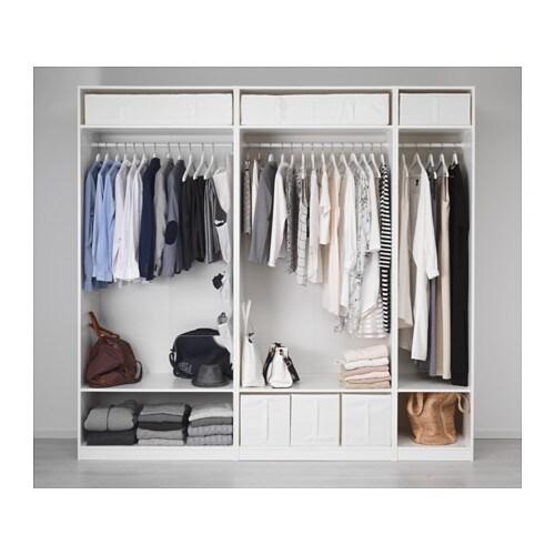 pax garderob 250x58x236 cm ikea. Black Bedroom Furniture Sets. Home Design Ideas