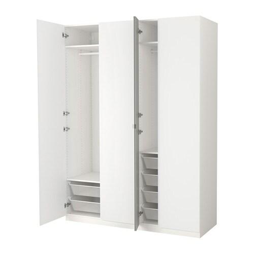 pax garderob 175x60x236 cm ikea. Black Bedroom Furniture Sets. Home Design Ideas