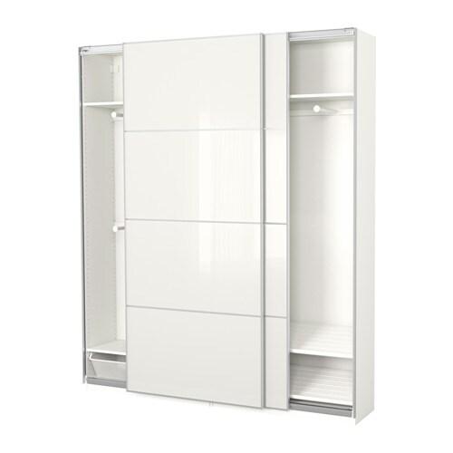 pax garderob 200x44x236 cm ikea. Black Bedroom Furniture Sets. Home Design Ideas