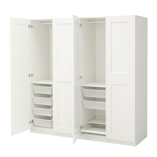 pax garderob 200x60x201 cm ikea. Black Bedroom Furniture Sets. Home Design Ideas