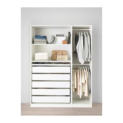 pax garderob 150x58x201 cm ikea. Black Bedroom Furniture Sets. Home Design Ideas