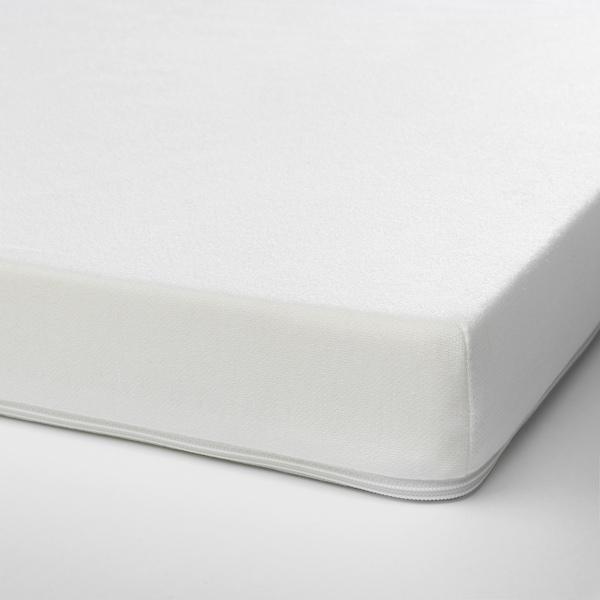 PELLEPLUTT Skummadrass för spjälsäng, 60x120x6 cm