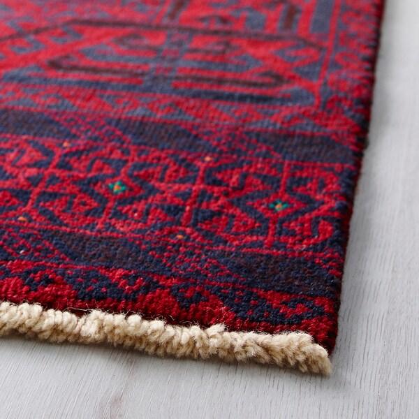 PERSISK BELUTCH Matta, kort lugg, handgjord blandade mönster, 100x200 cm