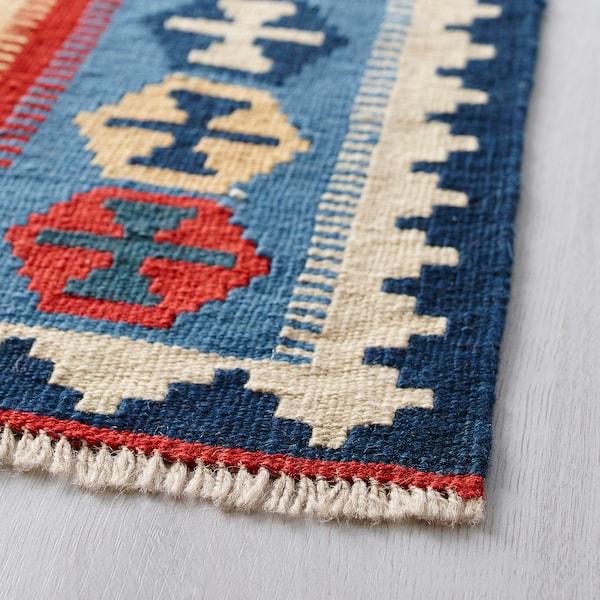 PERSISK KELIM GASHGAI Matta, slätvävd, handgjord blandade mönster, 125x180 cm
