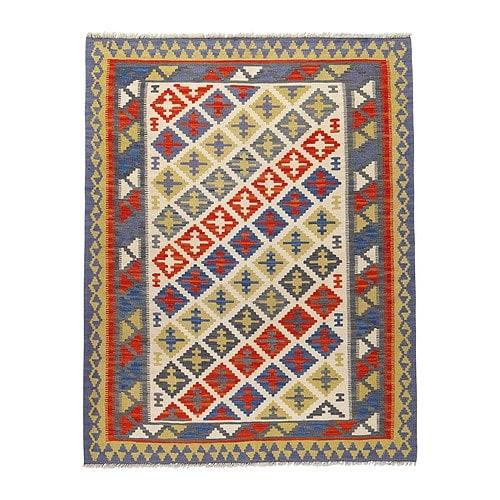 PERSISK KELIM GASHGAI Matta, slätvävd, blandade mönster Längd: 180 cm Bredd: 125 cm