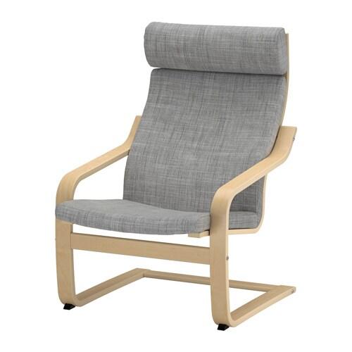 POäNG Fåtölj Isunda grå IKEA