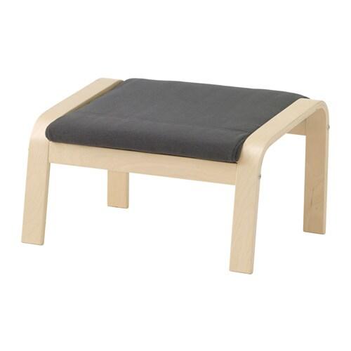 POäNG Fotpall Finnsta grå IKEA
