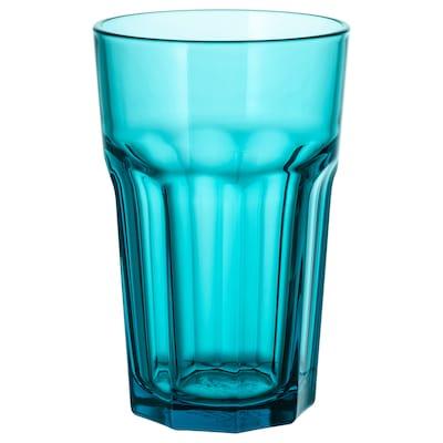 POKAL Glas, turkos, 35 cl