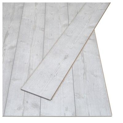 PRÄRIE Laminatgolv, ekmönstrad/grå, 2.25 m²
